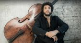 France. Paris. 11/2015.Omer Avital. contrebasse. double bass.